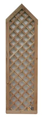Mřížka série VARIO, sib. modřín diagonalní, 60 do špice