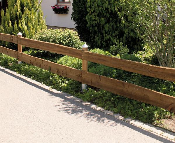 Rančérský plot 18-24 cm, 4,00 m