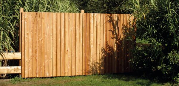 Modřínová dělící stěna Boden-Deckel volně ložená