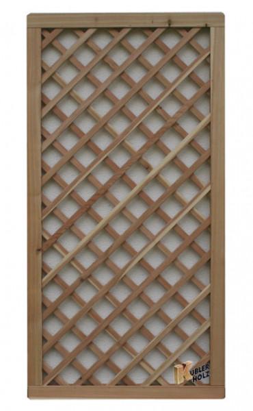 Mřížka série VARIO, sib. modřín diagonalní 120/180