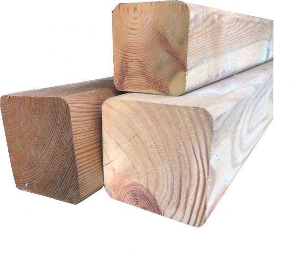 Sloupky z jehličnatého dřeva, tlakově impregnované