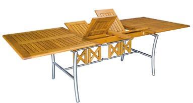Stůl Savona III 100x180/250 cm, rozkládací