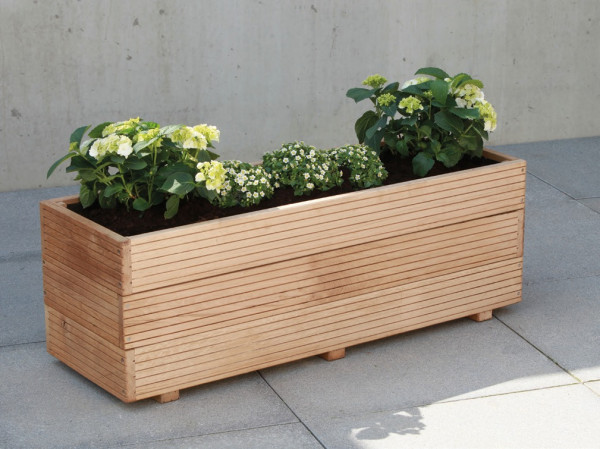 Dubový květináč 90x40cm