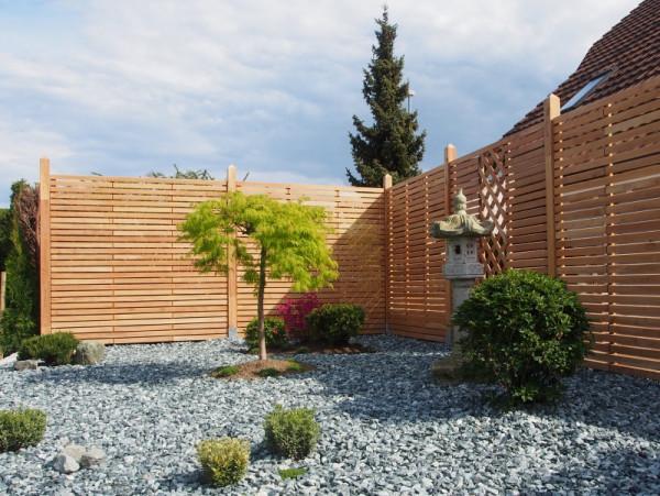 Dělící rhombusová stěna, akát 180/180