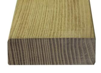 Akátové terasové prkno 45/100 mm, 6,00 m