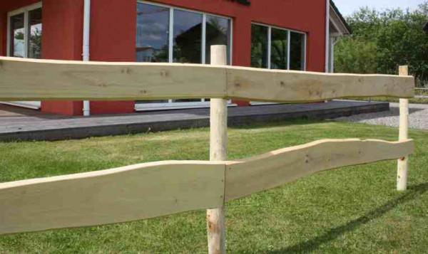 Akátový rančérský plot