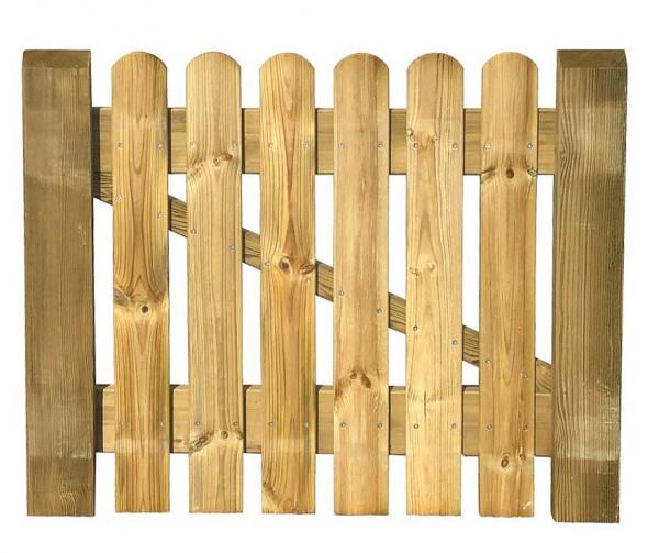 Zahradní branka z jehličnatého dřeva TIM