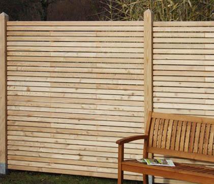 Rhombusová dělící stěna, sib. modřín 300400LS