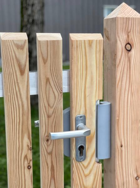 Zahradní branka s hliníkovým rámem 200/100 cm