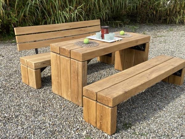 Zahradní sedací souprava Tantum - lavice bez opěrek 2,00 ml
