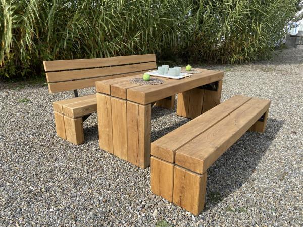 Zahradní sedací souprava Tantum - stůl 1,70 x 0,62 m